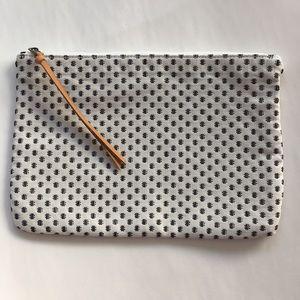 NWT LOFT clutch/zippered pouch